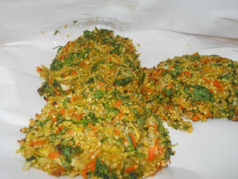 Quinoa Garden Cakes
