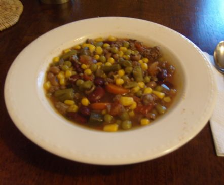 Venison & Vegetable Soup