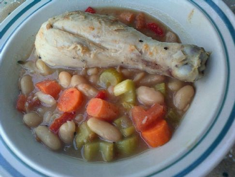 Fragrant Beans and Chicken