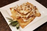 Pumpkin Ravioli with Gorgonzola Sauce