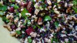 Cranberry Oat Groat Salad