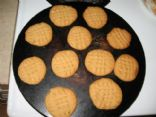 Kraft Peanut Butter Cookies (less sugar)