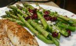 Cranberry Feta Asparagus
