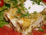 Potato and Swiss Chard Enchiladas