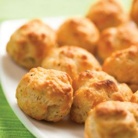 Baked Cheese Puffs