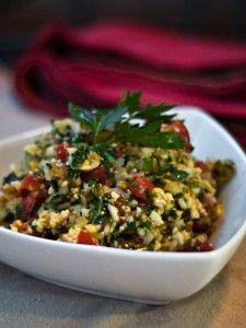 Cauliflower Tabouli
