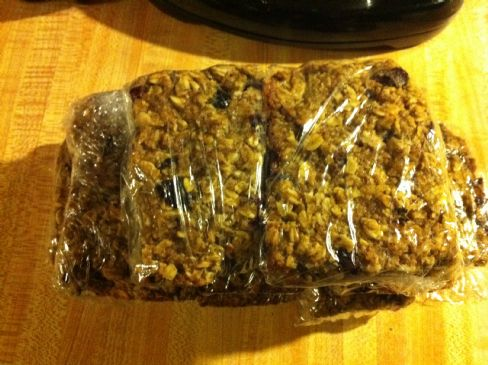 R & R Oatmeal Breakfast Bake Bars