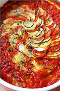 Ratatouille under 120 calories