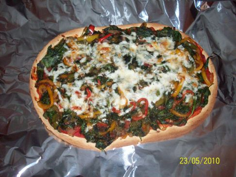 Easy, Yummy Veggie Pizza