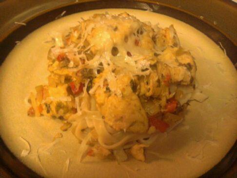 MaMa's Spicy Chicken Pasta