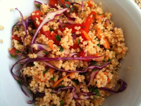 Couscous Confetti Salad (1/2 cup)