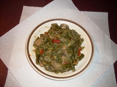 Green Bean/Bell Pepper Medley with Mushrooms