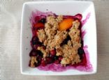 HEAB's Oat Bran Blueberry Crumble