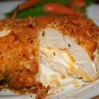 Reduced Calorie Garlic-Lemon Stuffed Chicken Breast