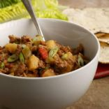 Apple Turkey Picadillo