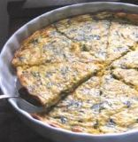 Crustless Low-Carb Spinach Quiche