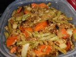 Long Bean Chayote stirfry