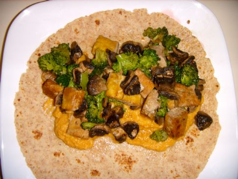 Tofu Veggie Burritos