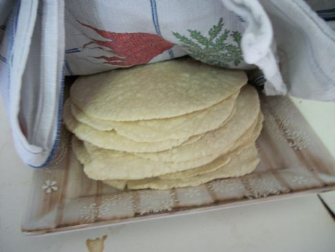 Corn tortillas