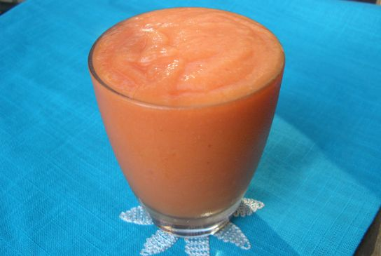 Full Color Papaya Smoothie