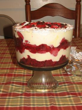 Choco-Strawberry Trifle
