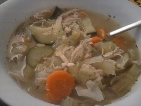 Amazing Low calorie delicious Chicken soup