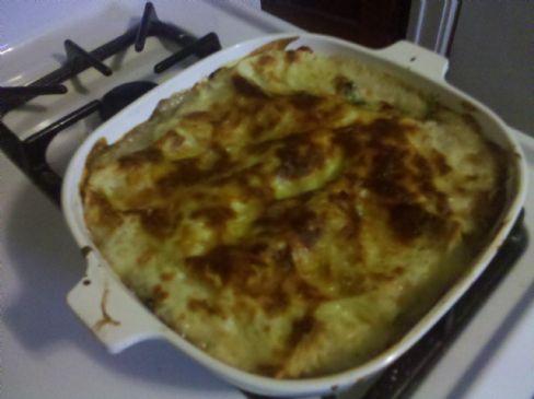 Comfort Food Portobello Mushroom Lasagna