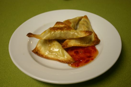 Vegetarian Baked Burmese Samosas