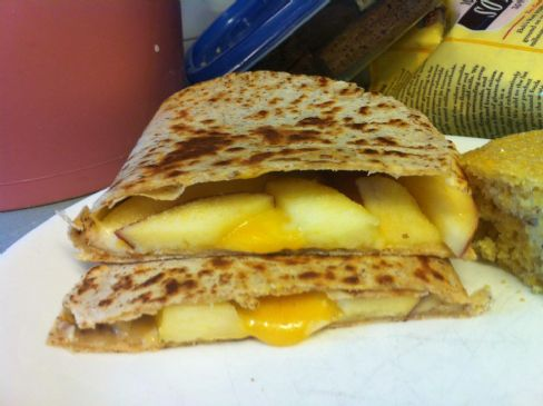 Apple-Jack Quesadilla