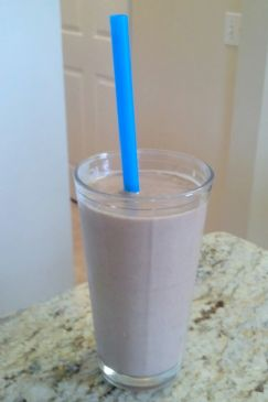 Chocolate Protein Shake (no sugar, no protein powder)