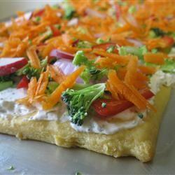 Grandpa's Veggie Pizza