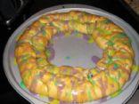 Healthier King Cake