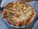 Veggie/Fruit Tortilla Pizza