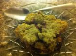 Crumble (blueberries peach and apple