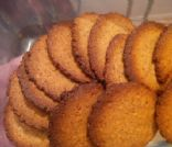 Almond Coconut cookies (serving = 3 cookies)