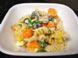 Creamy Mediterranean-Style Pasta Salad