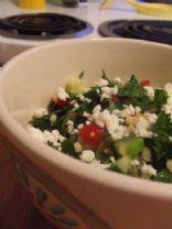Tabbouleh-Inspired Harvest Grains Salad