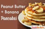 Peanut Butter And Banana Pancakes