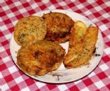 Fried squash and Green tomatoes