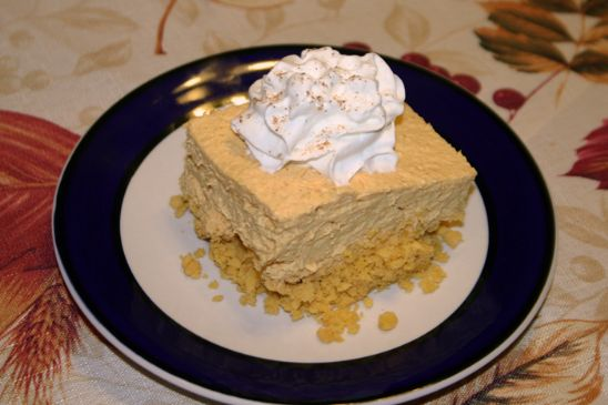Sugar Free, No Bake, Pumpkin Pie Cheesecake