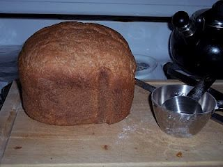 Clean Eating Whole Wheat Bread Machine Bread