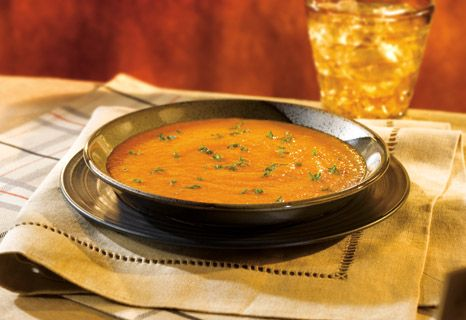 Creamy Carrot Gingered Soup