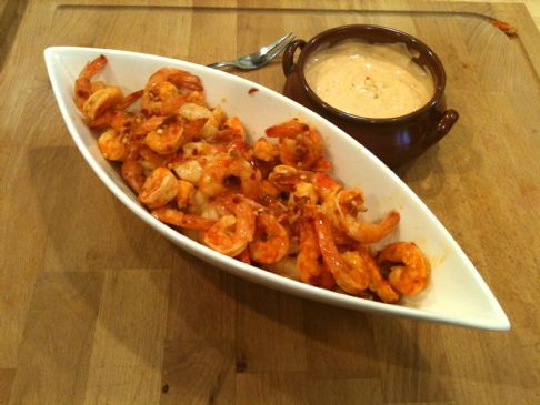 Chipotle Orange Shrimp