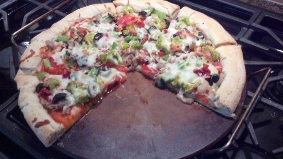 Farmer's Market Pizza