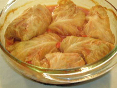 Bok Choy Chicken and Beef Rolls