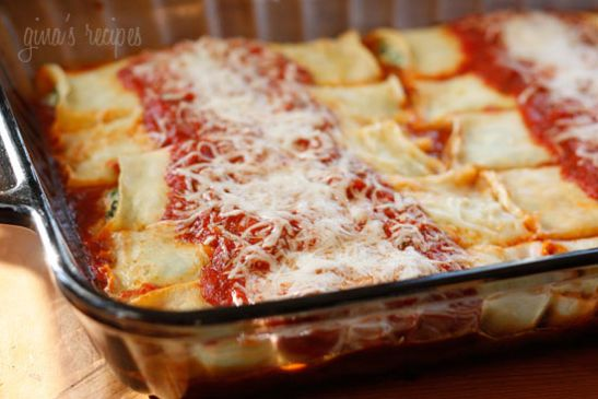 Homemade Manicotti Recipe Sparkrecipes