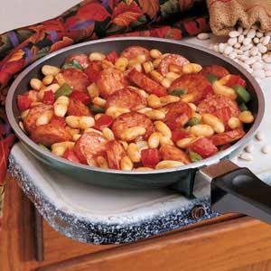 Kielbasa & Kidney Beans