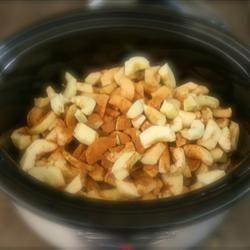 Slow Cooker Cider Applesauce (No Sugar Added)