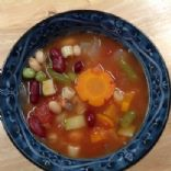 Low Fat Minestrone Soup (Vegan)