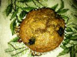 Banana, Blueberry, Bran Muffins